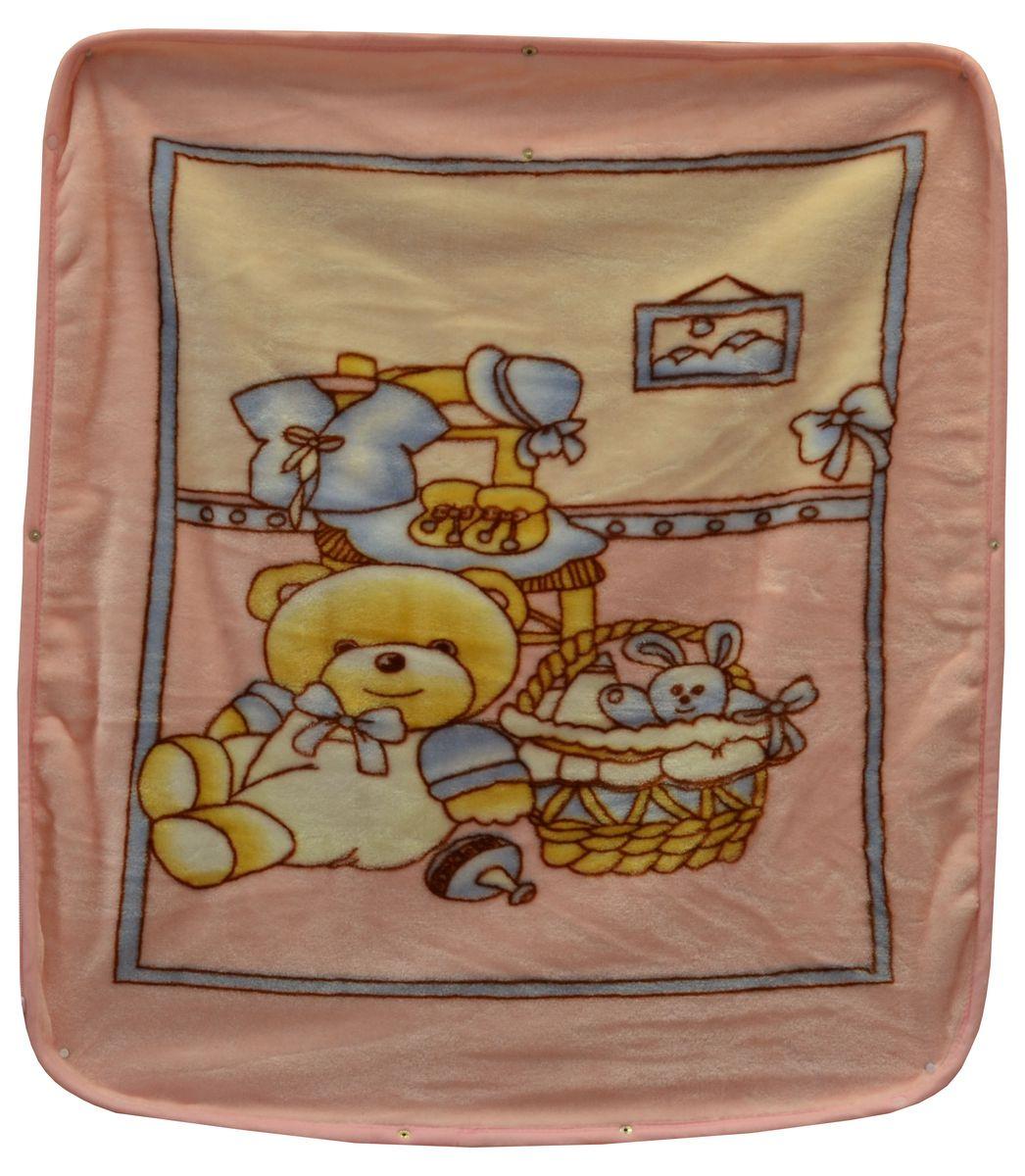 Bonne Fee Плед-накидка для младенцев на молнии 2, 80 х 90 см, цвет: розовый531-105Плед-накидка для младенцев на молнии Bonne Fee - защита, тепло и комфорт для малышей - использован надёжный, качественный и мягкий материал! Удобство и спокойствие для родителей обеспечивается универсальностью пледа-накидки, конструкция которого позволяет ему легко превращаться в конвертик. Отличное качество и практичность! Любите своего ребёнка и дарите ему лучшее!