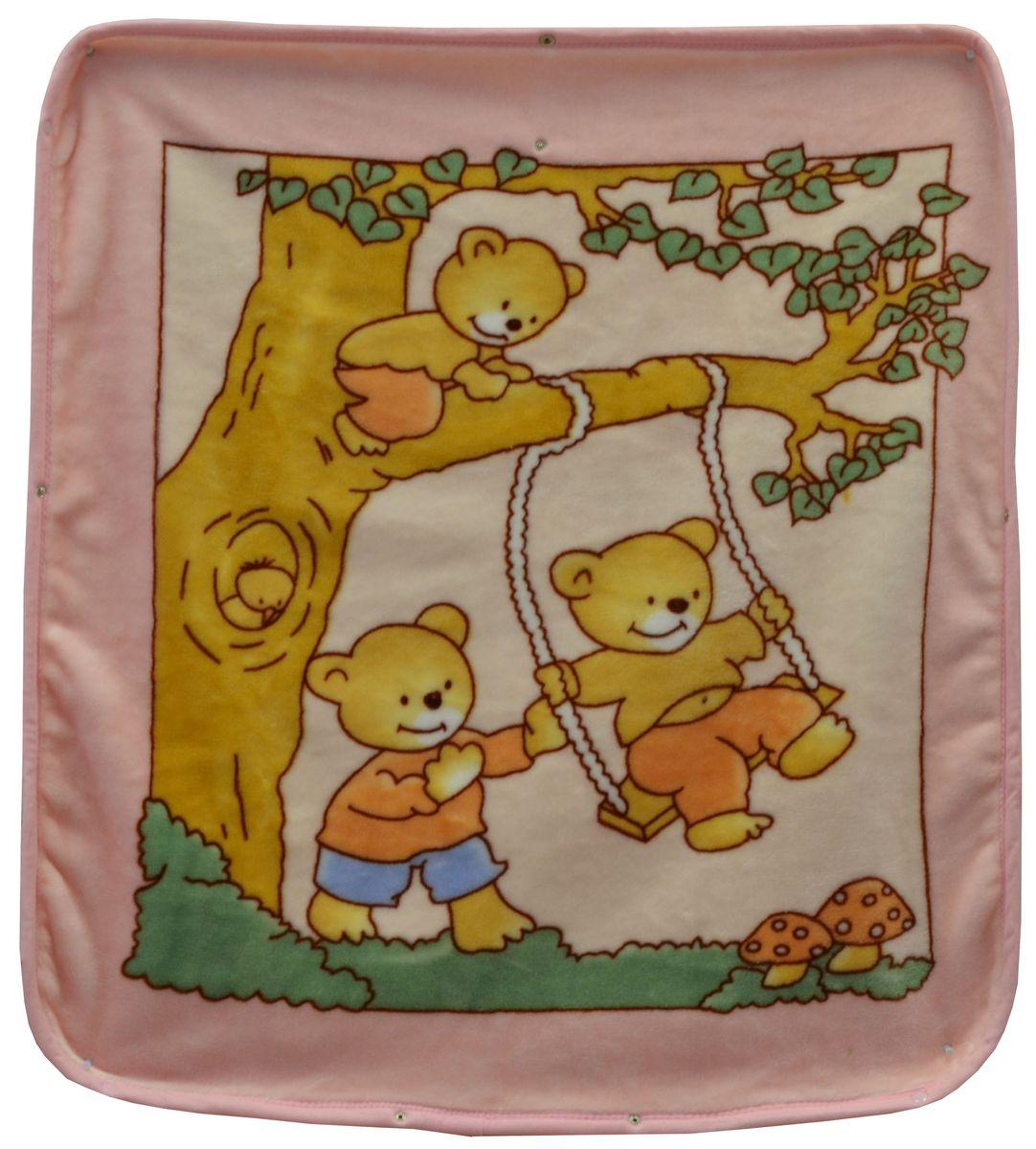 Bonne Fee Плед-накидка для младенцев на молнии 3, 80 х 90 см, цвет: розовыйЛЧ-3Плед-накидка для младенцев на молнии Bonne Fee - защита, тепло и комфорт для малышей - использован надёжный, качественный и мягкий материал! Удобство и спокойствие для родителей обеспечивается универсальностью пледа-накидки, конструкция которого позволяет ему легко превращаться в конвертик. Отличное качество и практичность! Любите своего ребёнка и дарите ему лучшее!
