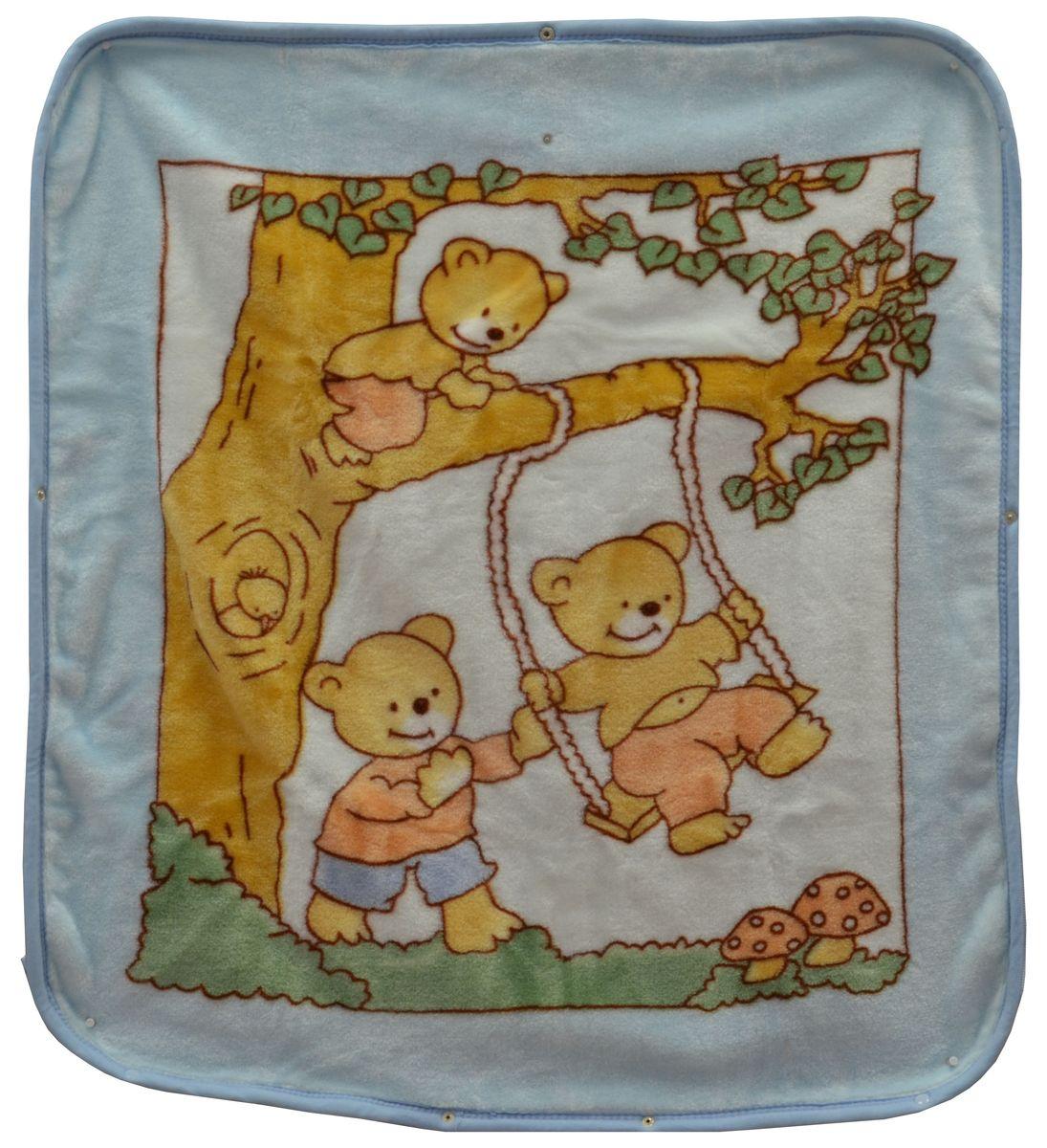 Bonne Fee Плед-накидка для младенцев на молнии 3, 80 х 90 см, цвет: голубойК 03481_голубойПлед-накидка для младенцев на молнии Bonne Fee - защита, тепло и комфорт для малышей - использован надёжный, качественный и мягкий материал! Удобство и спокойствие для родителей обеспечивается универсальностью пледа-накидки, конструкция которого позволяет ему легко превращаться в конвертик. Отличное качество и практичность! Любите своего ребёнка и дарите ему лучшее!