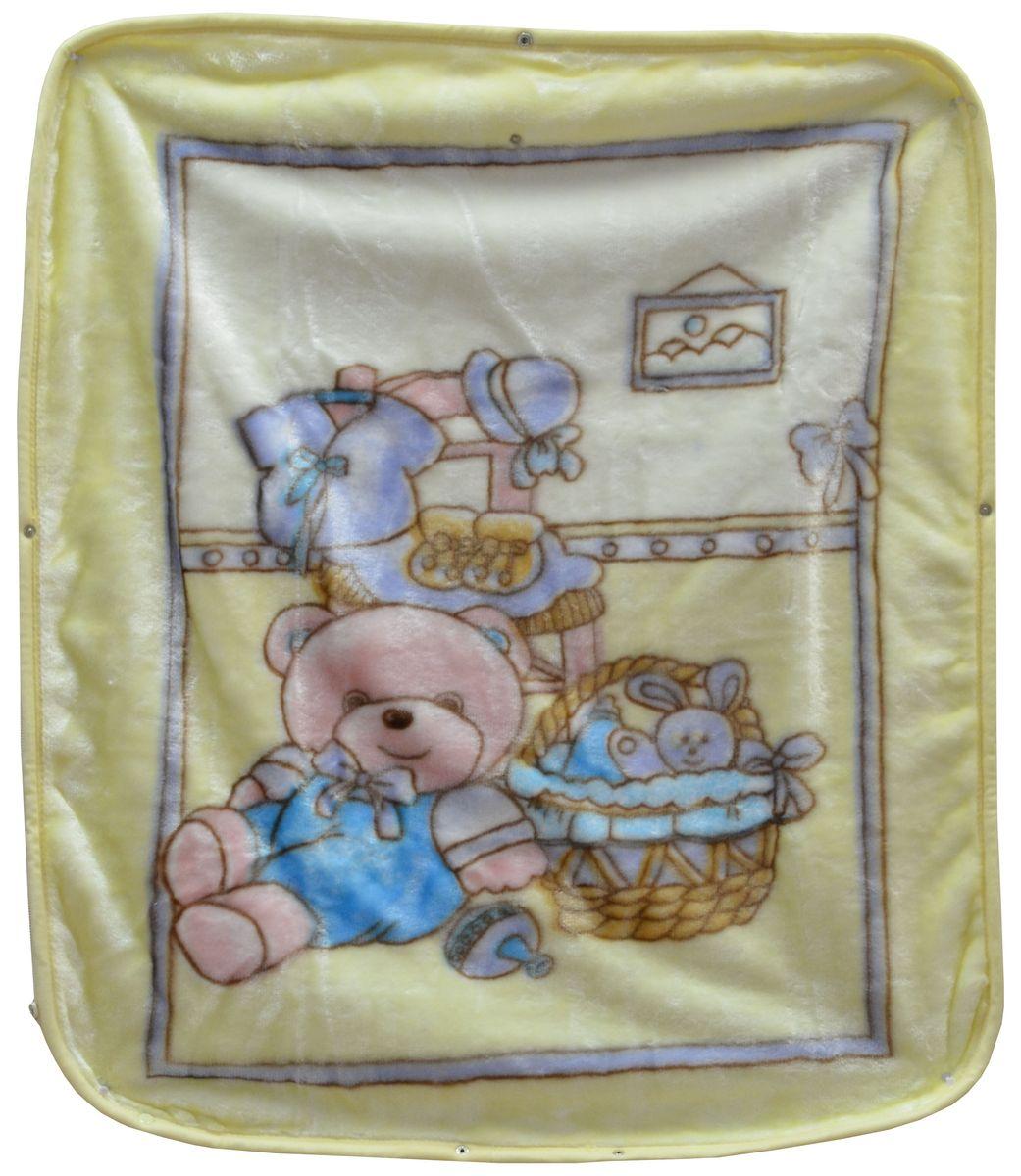 Bonne Fee Плед-накидка для младенцев на молнии 2, 80 х 90 см, цвет: желтый520312/1Плед-накидка для младенцев на молнии Bonne Fee - защита, тепло и комфорт для малышей - использован надёжный, качественный и мягкий материал! Удобство и спокойствие для родителей обеспечивается универсальностью пледа-накидки, конструкция которого позволяет ему легко превращаться в конвертик. Отличное качество и практичность! Любите своего ребёнка и дарите ему лучшее!