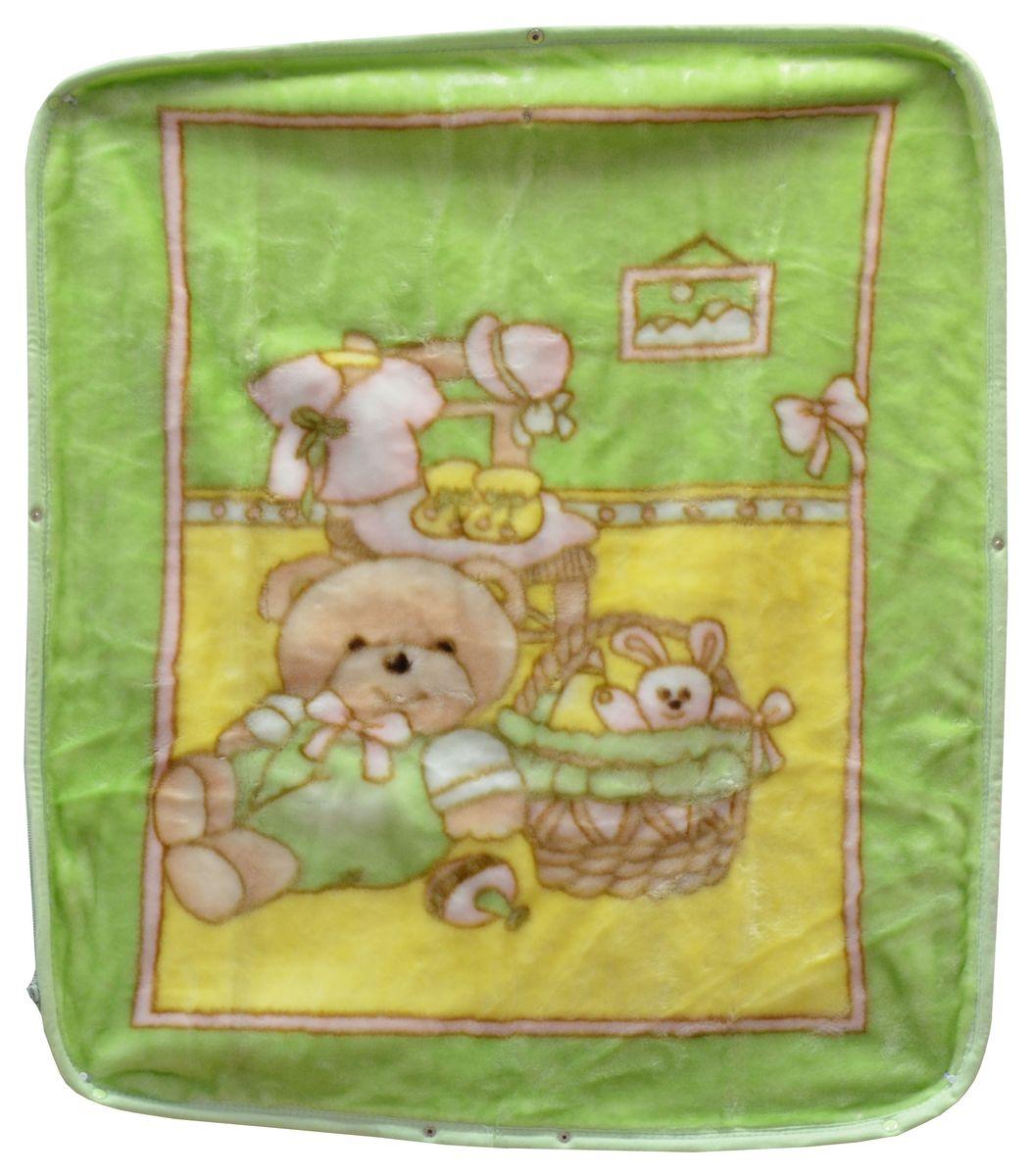 Bonne Fee Плед-накидка для младенцев на молнии 4, 80 х 90 см, цвет: зеленыйD45553_желтыйПлед-накидка для младенцев на молнии Bonne Fee - защита, тепло и комфорт для малышей - использован надёжный, качественный и мягкий материал! Удобство и спокойствие для родителей обеспечивается универсальностью пледа-накидки, конструкция которого позволяет ему легко превращаться в конвертик. Отличное качество и практичность! Любите своего ребёнка и дарите ему лучшее!