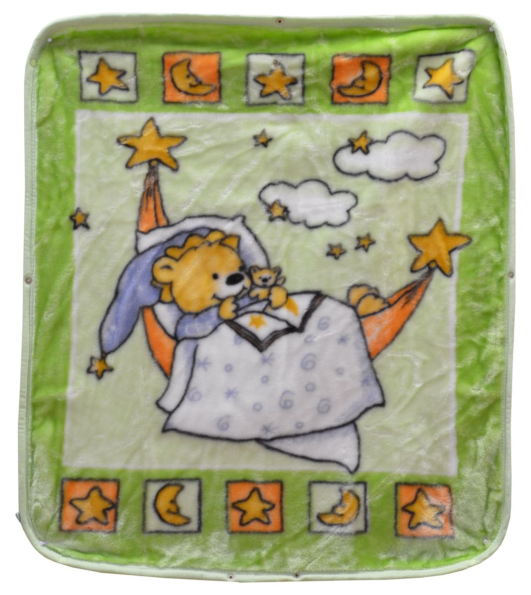 Bonne Fee Плед-накидка для младенцев на молнии 3, 80 х 90 см, цвет: зеленыйК 03481_бежевыйПлед-накидка для младенцев на молнии Bonne Fee - защита, тепло и комфорт для малышей - использован надёжный, качественный и мягкий материал! Удобство и спокойствие для родителей обеспечивается универсальностью пледа-накидки, конструкция которого позволяет ему легко превращаться в конвертик. Отличное качество и практичность! Любите своего ребёнка и дарите ему лучшее!