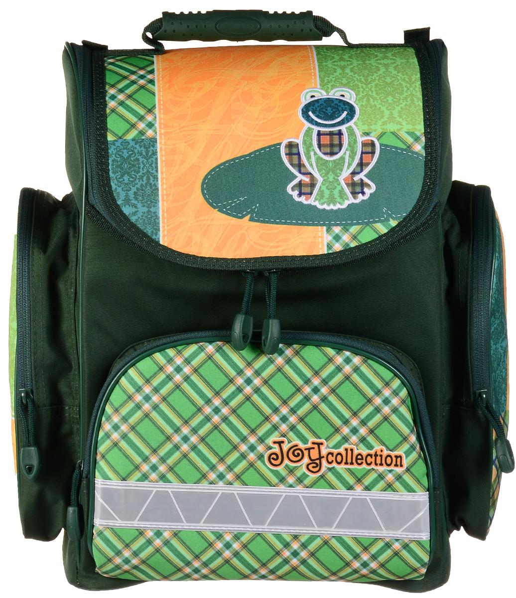 "Tiger Family Ранец школьный ""Joy Collection"", цвет: зеленый, салатовый, желтый, Tiger Enterprise"