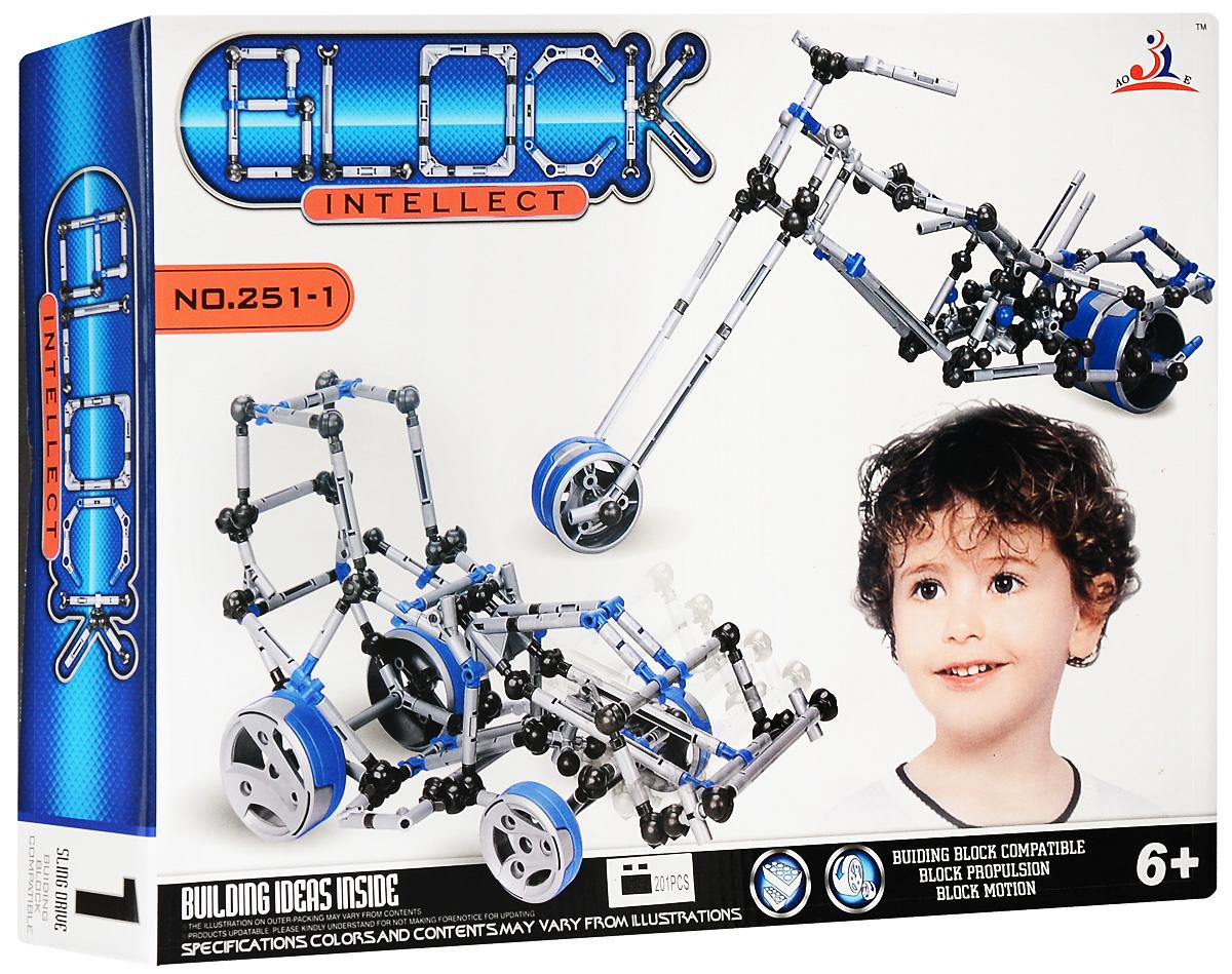 Intellect Block Конструктор Трактор