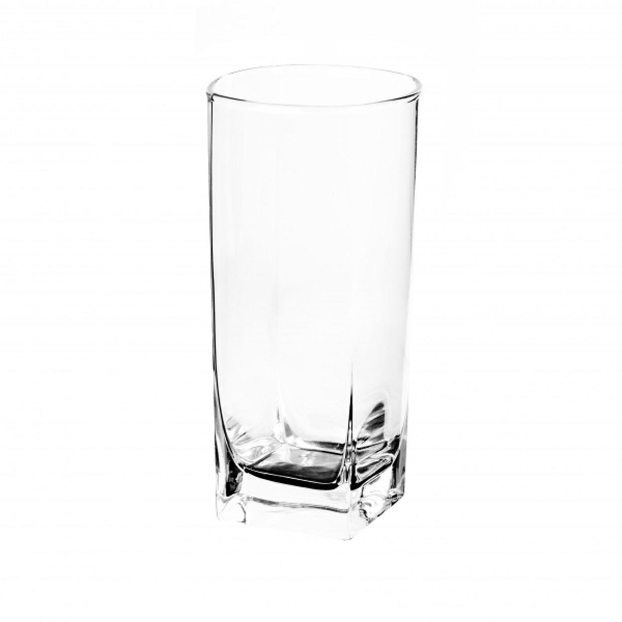 Набор стаканов Luminarc Стерлинг, 330 мл, 6 штVT-1520(SR)Набор стаканов Стерлинг от Luminarc оценят те, кто предпочитает стильную и надежную посуду. Стаканы изготовлены из фирменного ударопрочного стекла со специальным покрытием, которое предотвращает появление микротрещин. Высокие прозрачные стаканы с квадратным дном подойдут и для веселой вечеринки, и повседневного застолья. Набор состоит из шести стаканов, каждый объемом 330 мл. Стаканы можно мыть в посудомоечной машине.