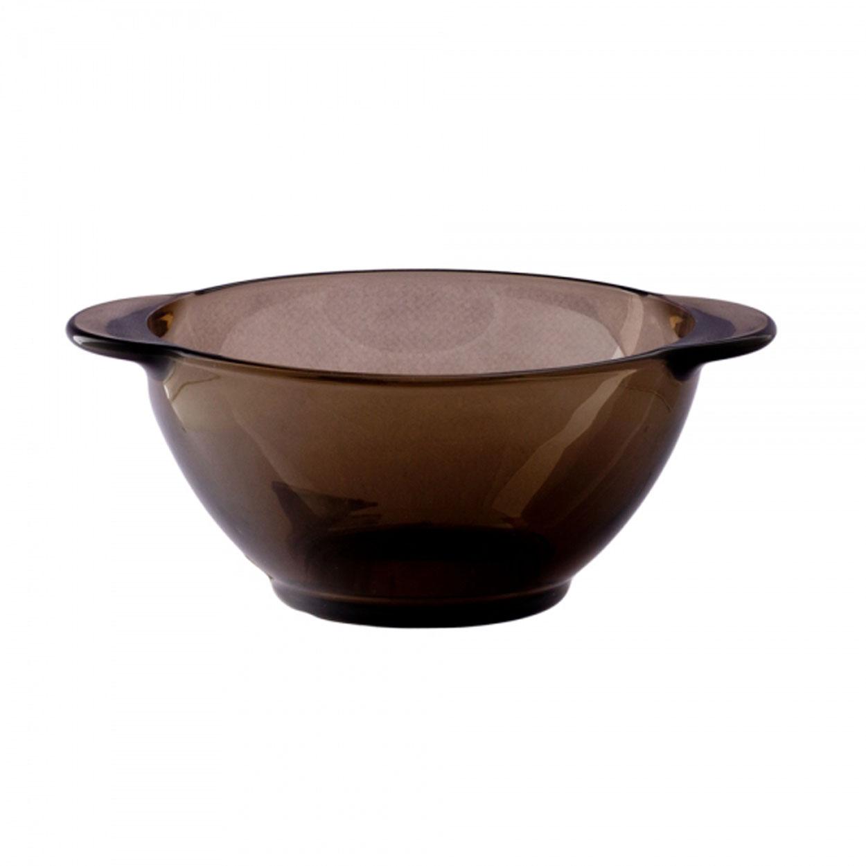 Бульонница Luminarc, 250 мл. H850454 009312Бульонница Luminarc станет изюминкой вашего стола. Необычный коричнево-дымчатый цвет придает ей особой оригинальности и неповторимости.Можно мыть в посудомоечной машине и использовать в СВЧ.Объем бульонницы: 250 мл.