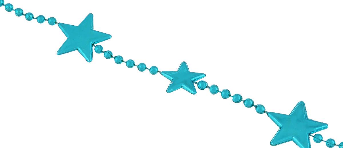 Новогоднее украшение Lunten Ranta Бусы. Цепочка из звезд, цвет: бирюзовый, длина 2 м34902Новогоднее украшение Lunten Ranta Бусы. Цепочка из звезд, изготовленные из высококачественного пластика, прекрасно подойдут для декора дома или новогодней ели. Новогодние бусы создают сказочную атмосферу и дарят ощущение праздника. Откройте для себя удивительный мир сказок. Почувствуйте волшебные минуты ожидания праздника, создайте новогоднее настроение вашим дорогим и близким.