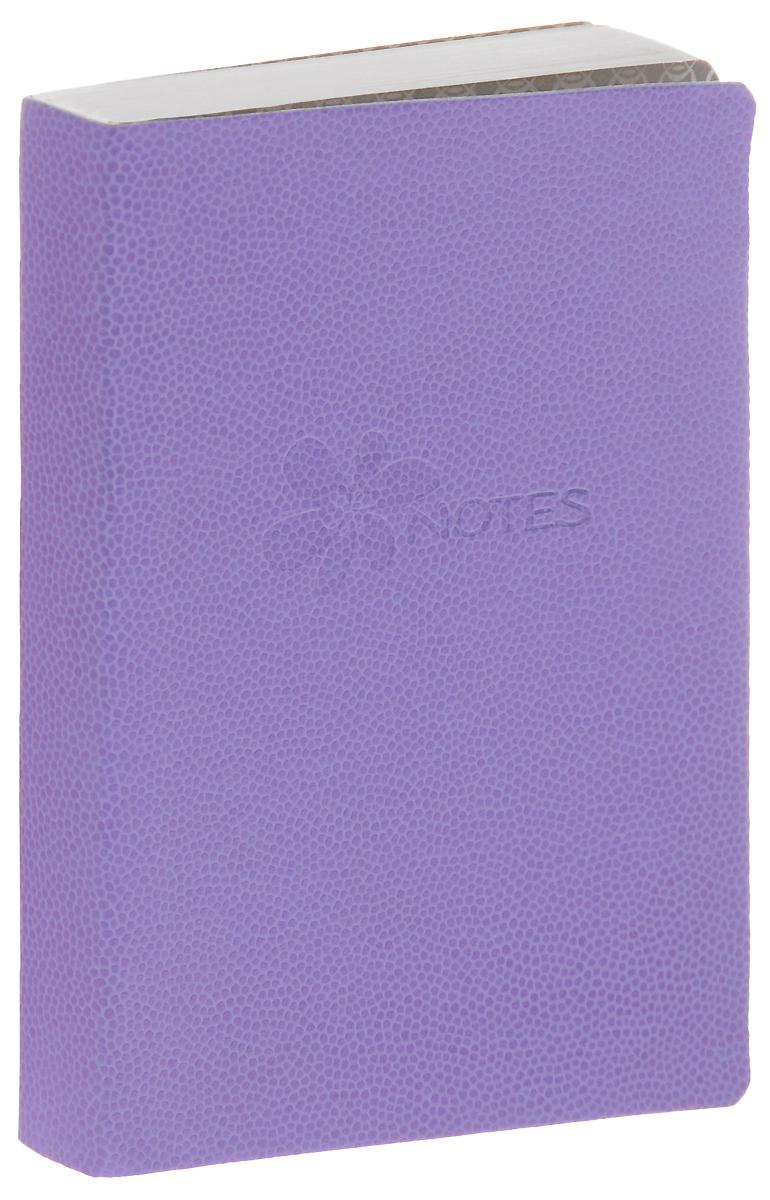 Erich Krause Книга для записей Flower 128 листов цвет фиолетовый80ККт5Aпс_08760Записная книжка в линейку с облегченной гибкой обложкой с закругленными углами.