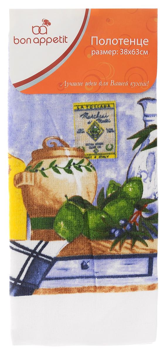 Полотенце кухонное Bon Appetit Акварель, 63 х 38 см334ВПолотенце кухонное Bon Appetit Акварель изготовлено из 100% хлопка, поэтому является экологически чистыми. Качество материала гарантирует безопасность не только взрослых, но и самых маленьких членов семьи. Изделие украшено оригинальным и ярким рисунком, оно впишется в интерьер любой кухни. Такое полотенце станет прекрасным помощником у вас на кухне.Размер полотенца: 63 см х 38 см.