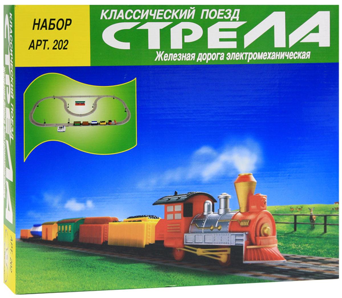 Классический поезд Стрела Железная дорога 61 элемент, Kingfit Industries Ltd.