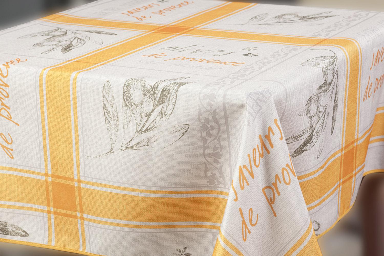 Скатерть Прованс, прямоугольная, цвет: оранжевый, 150x 220 см1004900000360Великолепная прямоугольная скатерть, выполненная из полиэстера, органично впишется в интерьер любого помещения, а оригинальный дизайн удовлетворит даже самый изысканный вкус. Скатерть Прованс с водоотталкивающей пропиткой создаст праздничное настроение и станет прекрасным дополнением интерьера гостиной, кухни или столовой.Машинная стирка при 30 градусах.