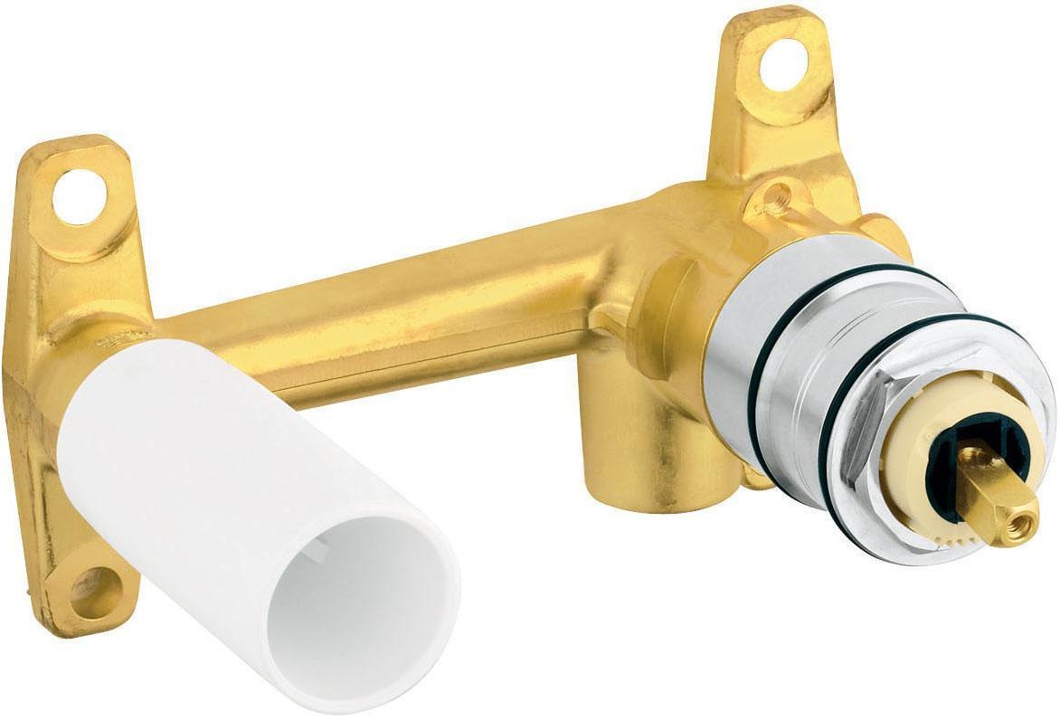 Встраиваемый смеситель GROHE для скрытого монтажа, однорычажныйBL505Для смесителя на 2 отверстияДля скрытого монтажаБез комплекта верхней монтажной частиГлубина монтажа 45-75 ммGROHE SilkMove керамический картридж 35 ммРегулировка расхода водыШаблон для монтажаDR-латуньМинимальное давление 1,0 бар