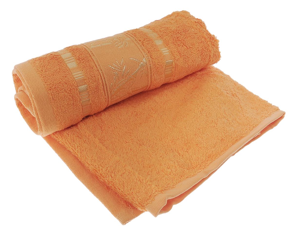 Полотенце Mariposa Bamboo, цвет: оранжевый, 50 х 90 смWUB 5647 weisПолотенце Mariposa Bamboo, изготовленное из 60% бамбука и 40% хлопка, подарит массу положительных эмоций и приятных ощущений.Полотенца из бамбука только издали похожи на обычные. На самом деле, при первом же прикосновении вы ощутите невероятную мягкость и шелковистость. Таким полотенцем не нужно вытираться - только коснитесь кожи - и ткань сама все впитает! Несмотря на богатую плотность и высокую петлю полотенца, оно быстро сохнет, остается легким даже при намокании.Благородный тон создает уют и подчеркивает лучшие качества махровой ткани. Полотенце Mariposa Bamboo станет достойным выбором для вас и приятным подарком для ваших близких.Размер полотенца: 50 см х 90 см.
