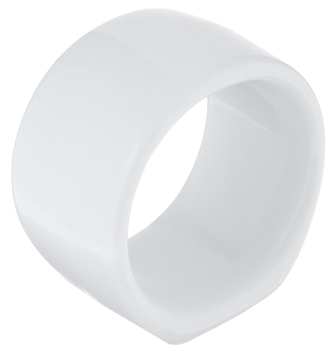 Кольцо для салфеток La Rose Des Sables Vendanges, цвет: белый, диаметр 4 см