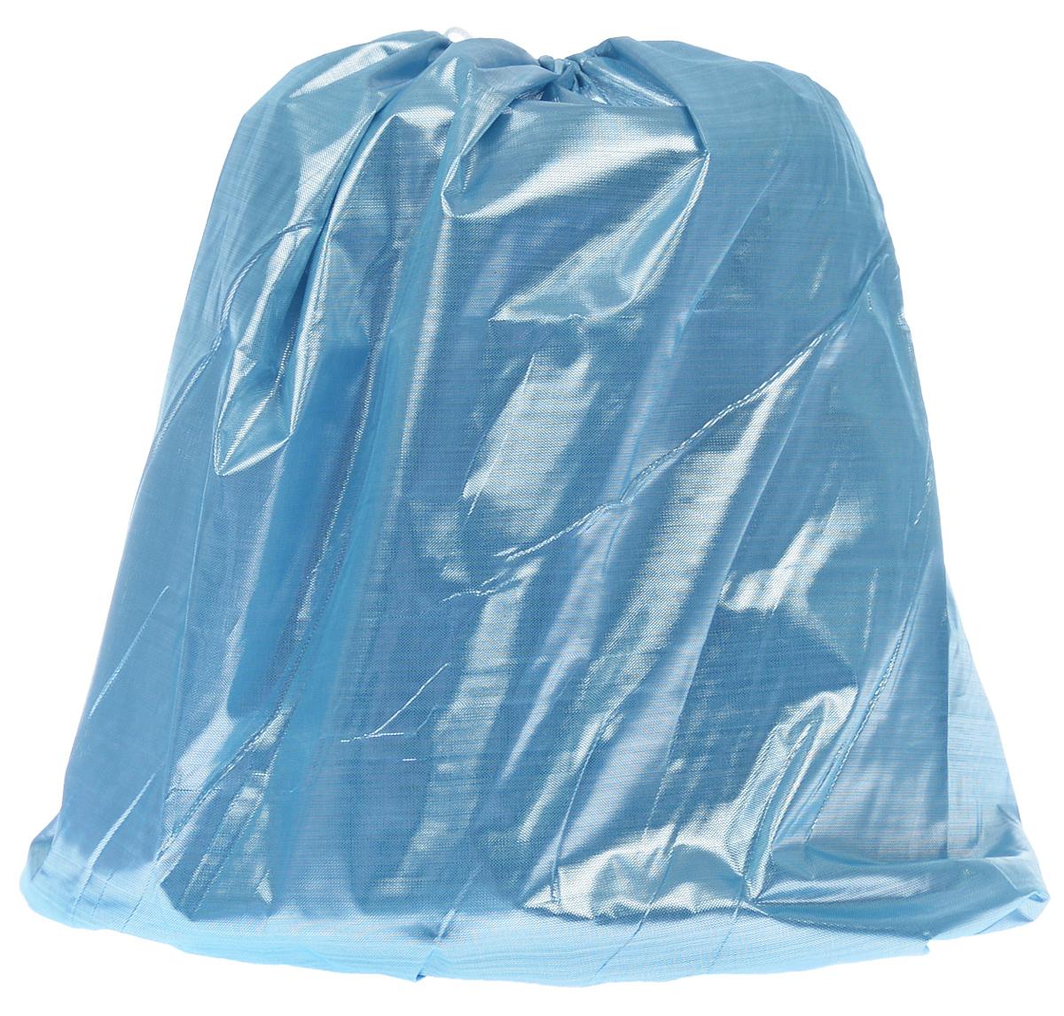 Покрывало под елку Eva, цвет: голубой, 105х45 смNLED-454-9W-BKПокрывало Eva предназначено для декорирования нижней части ствола елки. Вы можете создать искусственный сугроб, украсив его мишурой, конфетти и подарками. Покрывало крепится с помощью завязок.
