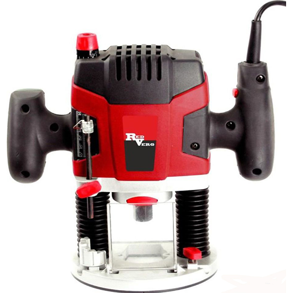 Фрезер RedVerg RD-ER1500601624002Фрезер RedVerg RD-ER150 - по-настоящему универсальная фрезерная машина, обеспечивающая максимальное удобство и точность при выполнении работ. Преимущества фрезера RD-ER150 RedVerg: -прецизионные направляющие в высококачественном алюминиевом корпусе; -электронная регулировка скорости; -вращающийся ограничитель обеспечивает 6 фиксированных положения глубины фрезерования с шагом 3 мм; -копировальная втулка и параллельный упор в комплекте позволяет осуществлять точное копирование образцов при фрезеровании.