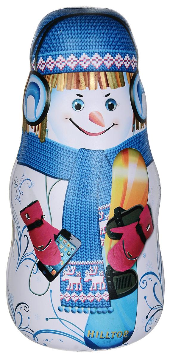 Hilltop Мальчик со сноубордом улун листовой, 100 г0120710Hilltop Мальчик со сноубордом - знаменитый китайский полуферментированный чай Оолонг, с нежным ароматом свежих сливок.