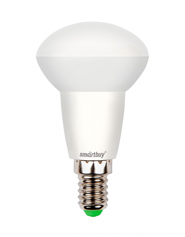 Лампа светодиодная Smartbuy, R50, холодный свет, цоколь Е14, 6 ВтC0042416Светодиодная лампа Smartbuy - энергосберегающая лампа, которая создает уникальное яркое освещение при помощи встраиваемых светильников. Матовая поверхность лампы обеспечивает равномерную освещенность. Лампа R50 повторяет форму и размеры стандартных рефлекторных ламп R50 с цоколем Е14 миньон, она подходит к стандартным встраиваемым потолочным точечным светильникам R50. В светодиодных лампах серии R50 применяются высокоэффективные светодиоды, что обеспечивает высокую надежность и эффективность источников света до 80 лм/ Вт. При этом коэффициент цветопередачи обеспечивается на уровне Ra>80. Особенности: - Хорошая цветопередача. - Угол освещения: 180°. - Отсутствие мерцания обеспечивает меньшую утомляемость глаз. - Высокоэффективный драйвер обеспечивает стабильную работу. - Устойчивость к механическому воздействию. - Большой срок службы - 30 000 часов работы. - Широкий рабочий температурный режим от -25° до +45°С. - Не содержит ртуть, экологически безопасна. Тип колбы: R50. Индекс цветопередачи: RA>80. Частота: 50 Гц. Напряжение: 220-240 В. Коэффициент мощности: 0,06.