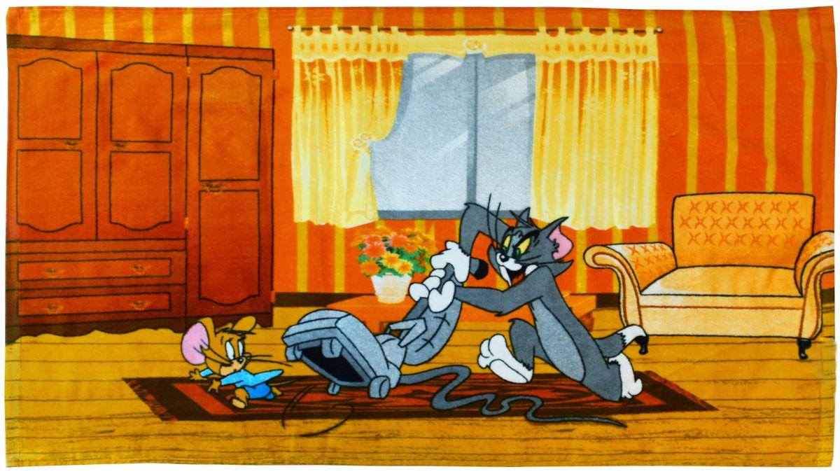 Мульткарнавал Полотенце махровое Том и Джерри 50 х 90 см