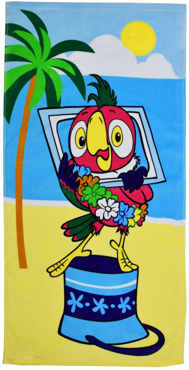Мульткарнавал Полотенце махровое Возвращение блудного попугая 60 х 120 см84486Полотенце махровое Мульткарнавал Возвращение блудного попугая, выполненное из натурального хлопка, подарит вам и вашему малышу мягкость и необыкновенный комфорт в использовании. Полотенце оформлено изображением попугая из известного мультфильма Возвращение блудного попугая.Красочное изображение любимых героев и невероятная мягкость полотенца обязательно приведут в восторг вашего ребенка и превратят любое купание в веселую и увлекательную игру. Ткань не вызывает аллергических реакций, обладает высокой гигроскопичностью и воздухопроницаемостью.Полотенце великолепно впитывает влагу, нежное на ощупь и не теряет своих свойств после многократной стирки. Порадуйте своего ребенка таким замечательным подарком!Режим стирки: при 40 °С, не отбеливать, гладить при температуре не более 150 °С, не подлежит химчистке.