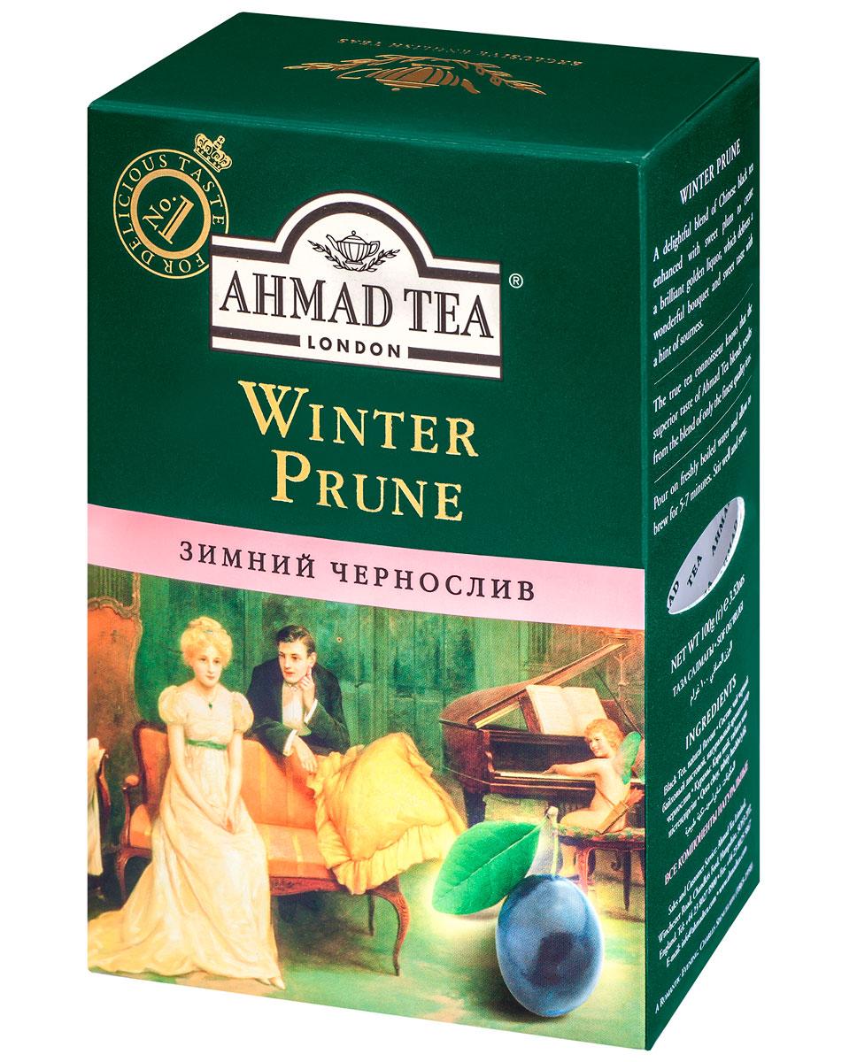 Ahmad Tea Winter Prune, 100 г0120710Сладкий, насыщенный, с легкой кислинкой вкус чернослива обрамляет букет восхитительного китайского черного чая в композиции Ahmad Winter Prune, подобно прозрачному бриллианту в драгоценной оправе. В Японии и Китае дерево сливы начинает цветение в конце зимы, благодаря чему цветок сливы считается символом весны, торжествующей над зимой.Уважаемые клиенты! Обращаем ваше внимание на то, что упаковка может иметь несколько видов дизайна. Поставка осуществляется в зависимости от наличия на складе.