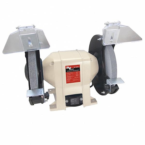Станок заточной RedVerg RD-3220Bст230-2200мКомпактный заточной станок с диаметром заточного круга - 200 мм, предназначен для шлифовальных и заточных работ по металлу в частных гаражах, небольших мастерских и предприятий. Механизм подсветки, обеспечивает лучшую видимость при обработке металла. Надёжный мощный асинхронный двигатель обеспечит долгий срок службы заточного станка, а система защитных приспособлений (защитное стекло и металлический упор) обезопасит оператора от травм.