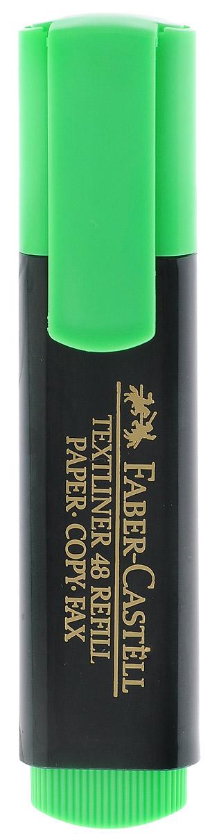 Faber-Castell Текстовыделитель цвет зеленыйFS-36052Текстовыделитель Faber-Castell зеленого цвета станет незаменимым предметом как на столе школьника, так и студента. Маркер с универсальными чернилами на водной основе идеален для всех видов бумаги. Имеется возможность повторного наполнения чернилами. Линия маркировки шириной 5, 2 или 1 мм.