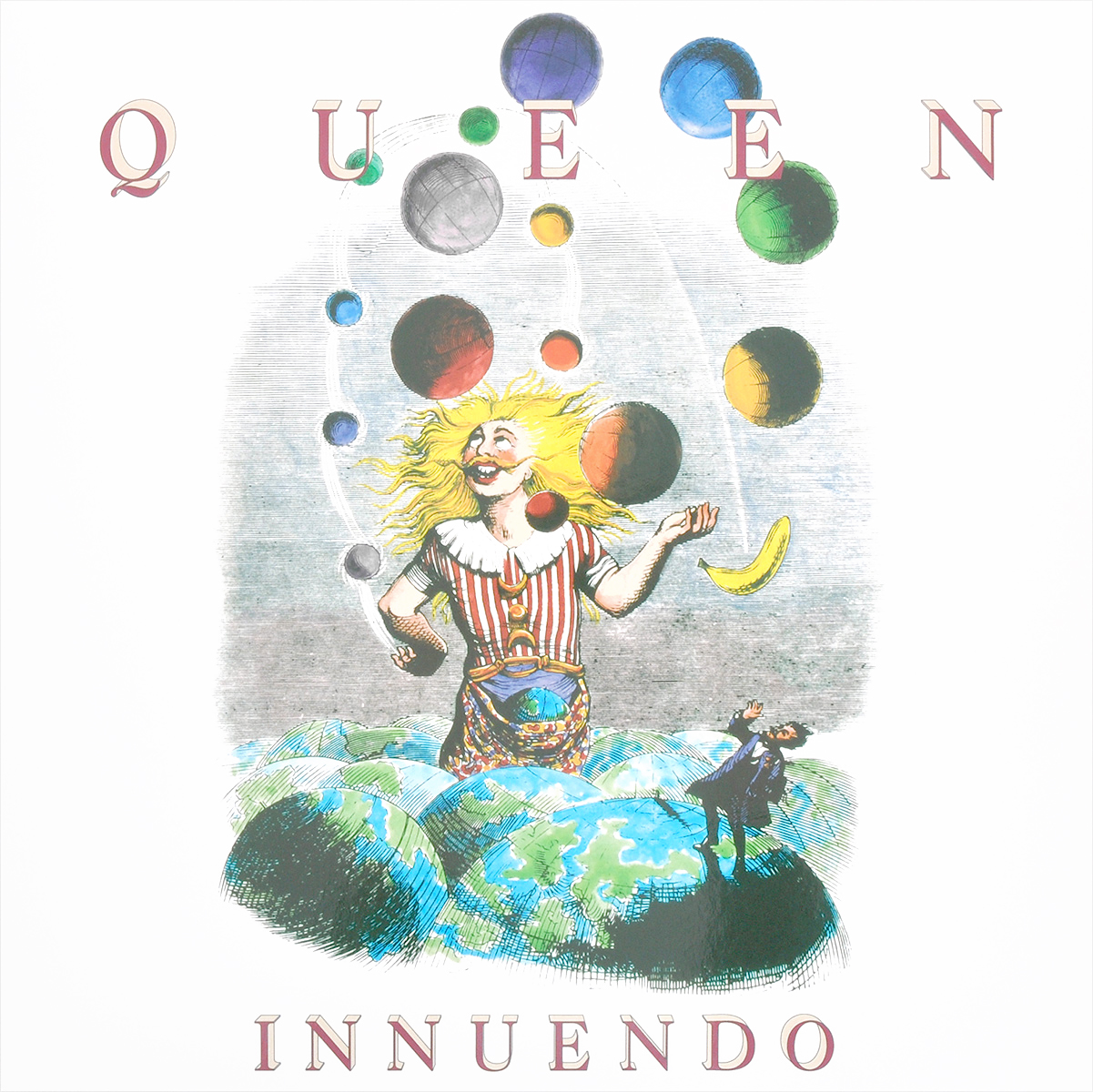Queen Queen. Innuendo (2 LP) queen queen queen lp