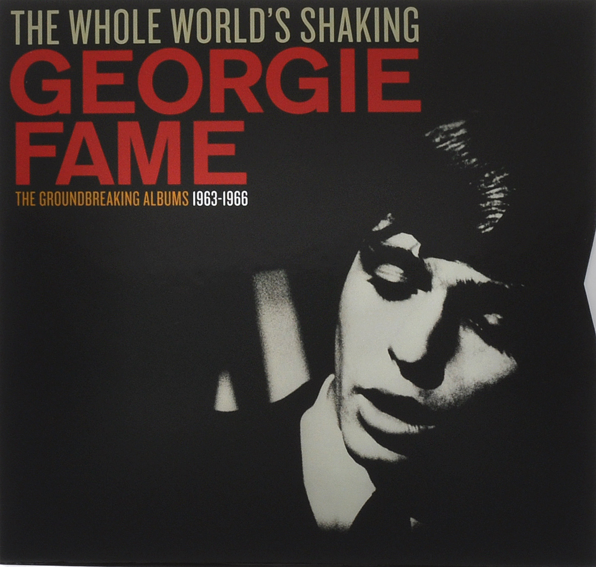 Джорджи Фэйм Georgie Fame. The Whole World's Shaking. The Groundbreaking Albums 1963-1966 (4 LP) mvpower 3 5mm stereo headphone wired gaming headset with mic microphone earphones for sony ps4 computer smartphone hifi earphone