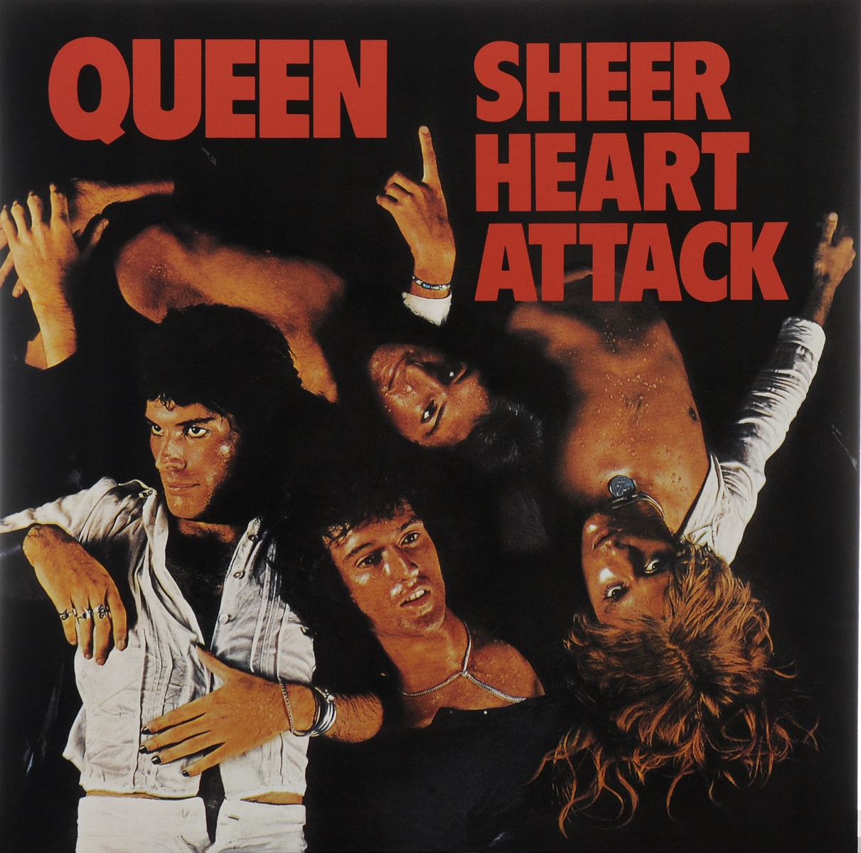Queen Queen. Sheer Heart Attack (LP) свитшот queen kw1