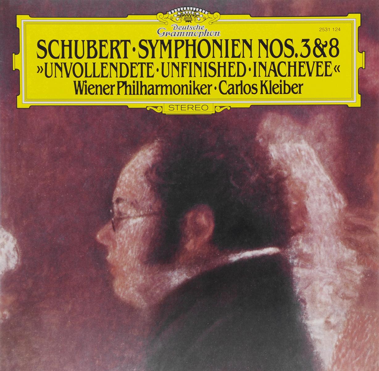 Карлос Кляйбер,Wiener Philharmoniker Carlos Kleiber. Schubert. Symphonien Nos. 3 & 8 (LP) carlos rivera mexico