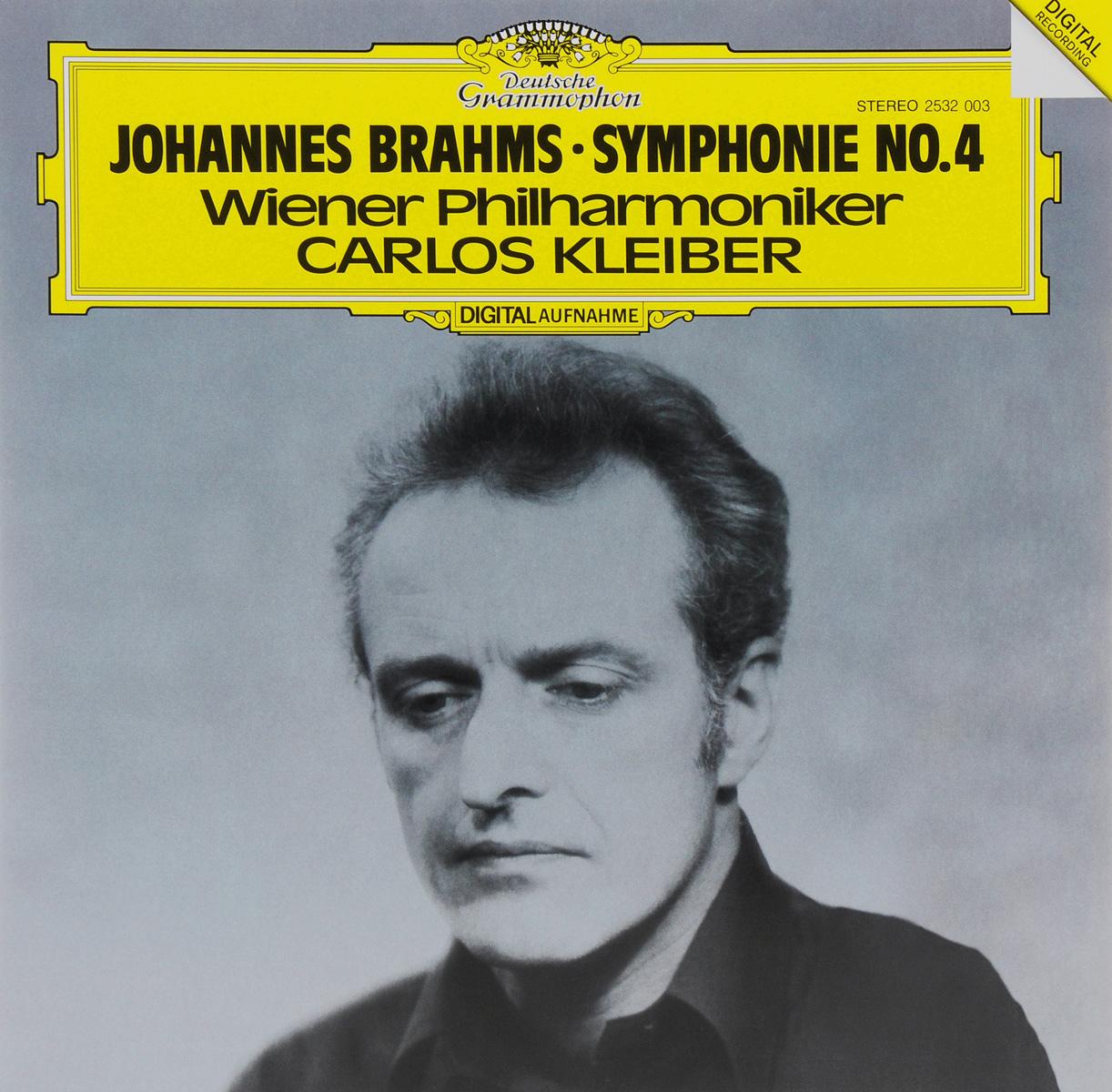 Карлос Кляйбер,Wiener Philharmoniker Carlos Kleiber. Johannes Brahms. Symphonie No. 4 (LP) wiener index of graphs