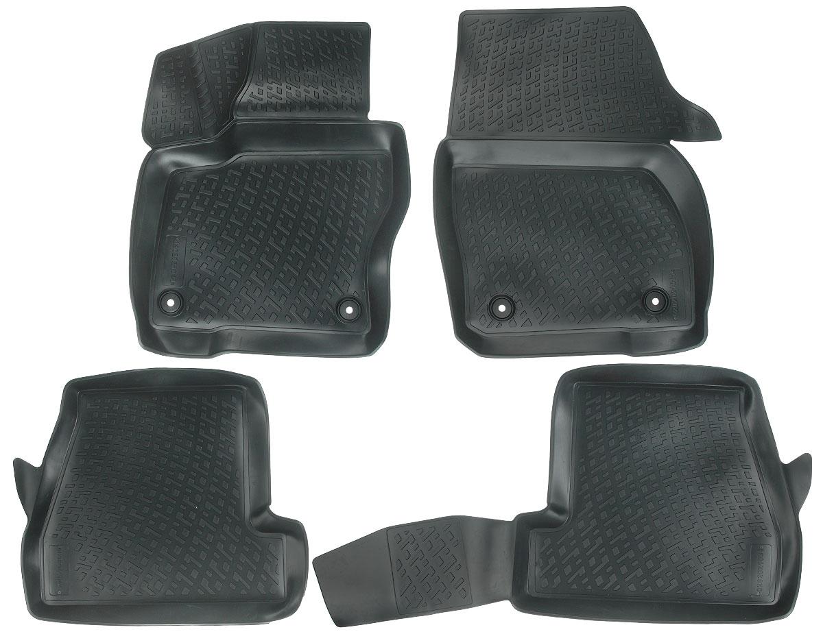 Набор автомобильных ковриков L.Locker Ford Focus (3) 2011, в салон седан и хэтчбек, 4 шт0206090101Набор L.Locker Ford Focus (3) 2011, изготовленный из полиуретана,состоит из 4 антискользящих 3D ковриков,которые производятся индивидуально для каждой моделиавтомобиля. Изделие точно повторяет геометрию пола автомобиля, имеет высокийборт, обладает повышенной износоустойчивостью, лишено резкого запаха и сохраняет своипотребительские свойства в широком диапазоне температур от -50°С до +50°С.Комплектация: 4 шт.Размер ковриков: 65 см х 52 см; 58 см х 50 см; 100 см х 49 см; 68 см х 54 см.