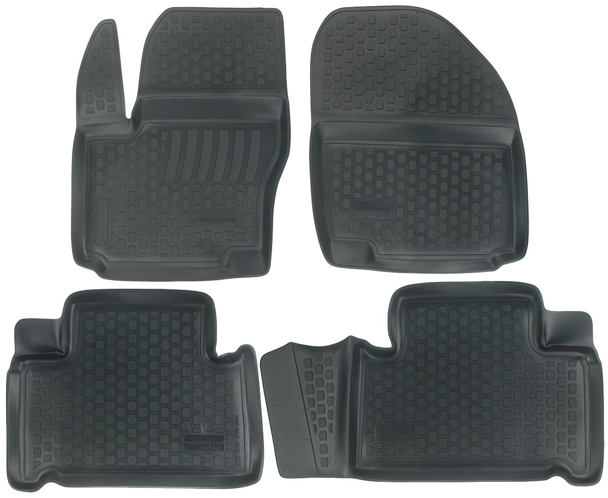 Набор автомобильных ковриков L.Locker Ford S-Max 2006, в салон, 4 штЭРМД-1600ЕНабор L.Locker Ford S-Max 2006, изготовленный из полиуретана,состоит из 4 ковриков,которые производятся индивидуально для каждой моделиавтомобиля. Изделие точно повторяет геометрию пола автомобиля, имеет высокийборт, обладает повышенной износоустойчивостью, лишено резкого запаха и сохраняет своипотребительские свойства в широком диапазоне температур от -50°С до +50°С.Комплектация: 4 шт.Размер ковриков: 68 см х 54 см; 64 см х 50 см; 68 см х 50 см; 66 см х 53 см.