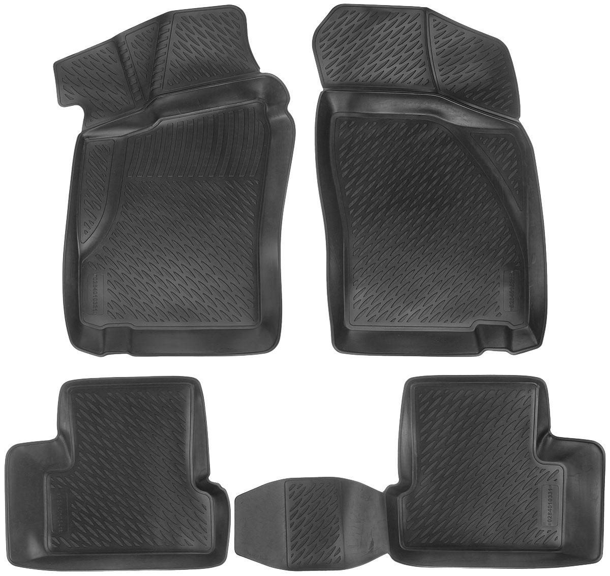 Набор автомобильных ковриков L.Locker Daewoo Nexia 2005, в салон, 4 шт0210020101Набор L.Locker Daewoo Nexia 2005, изготовленный из полиуретана, состоит из 4 антискользящих 3D ковриков, которые производятся индивидуально для каждой модели автомобиля. Изделие точно повторяет геометрию пола автомобиля, имеет высокий борт, обладает повышенной износоустойчивостью, лишено резкого запаха и сохраняет свои потребительские свойства в широком диапазоне температур от -50°С до +50°С. Набор подходит для автомобилей с 2005 года выпуска. Комплектация: 4 шт.Размер ковриков: 84 см х 58 см; 54 см х 46 см; 90 см х 46 см; 85 см х 53 см.