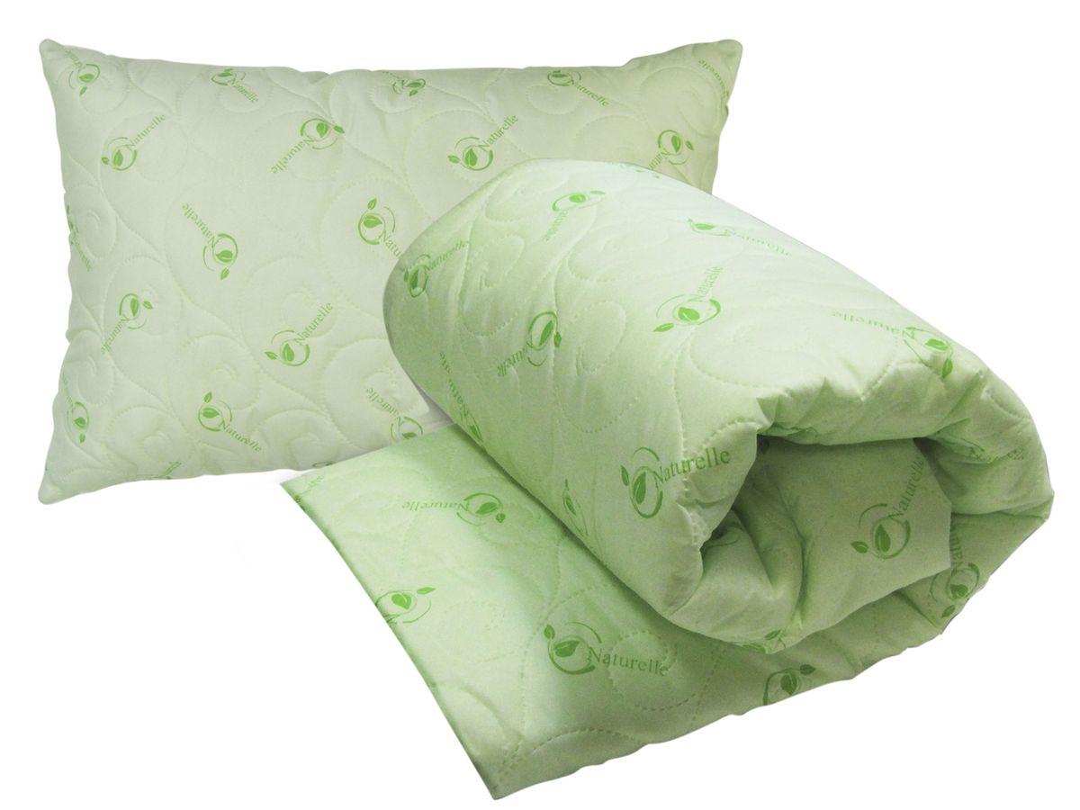 Комплект Натурель (одеяло 140х205 + подушка 50х72 -1 шт.)CLP446Наволочка на подушке на застежке-молнии.