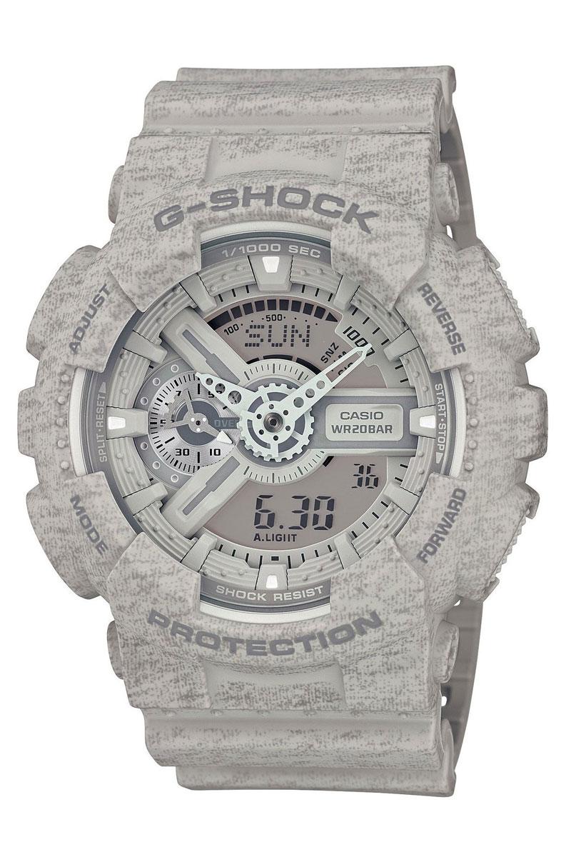 Zakazat.ru: Часы наручные Casio, цвет: серый. GA-110HT-8A
