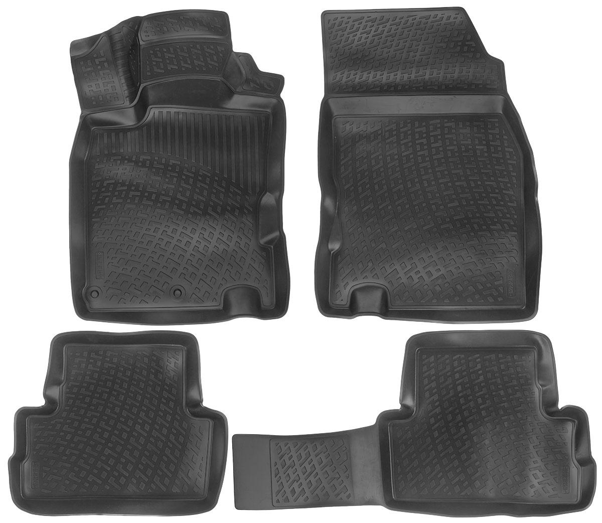 Набор автомобильных ковриков L.Locker Nissan Qashqai II 2014, в салон, 4 штFS-80264Набор L.Locker Nissan Qashqai II 2014, изготовленный из полиуретана, состоит из 4 антискользящих 3D ковриков, которые производятся индивидуально для каждой модели автомобиля. Изделие точно повторяет геометрию пола автомобиля, имеет высокий борт, обладает повышенной износоустойчивостью, лишено резкого запаха и сохраняет свои потребительские свойства в широком диапазоне температур от -50°С до +50°С.Комплектация: 4 шт.Размер ковриков: 87 см х 53 см; 53 см х 46 см; 92 см х 46 см; 54 см х 77 см.