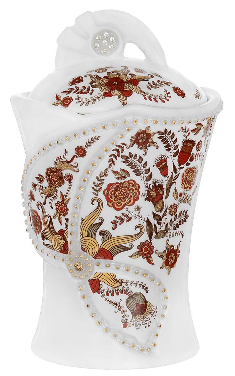 Hilltop Королевское золото черный листовой чай, 100 г (керамическая чайница Цветочный орнамент, новогодняя)0120710Hilltop Королевское золото - крупнолистовой терпкий черный чай стандарта Супер Пеко с лучших плантаций острова Цейлон. Помимо этого великолепного чая, в комплекте вы найдете керамическую чайницу Цветочный орнамент, которая несомненно украсит любое чаепитие и станет великолепным подарком для ценителей чая.