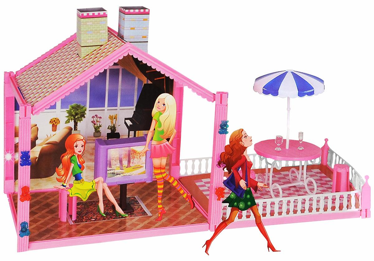 1TOY Дом для кукол одноэтажный