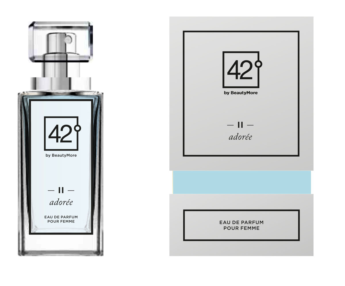 Fragrance 42 Парфюмированная вода для женщин II Adoree 50 мл1092018Адор -аромат для любимых и обожаемых.женщин,которых носят на руках.Верхняя нота - абрикос,кориандр,перец,свежий миндаль,оранжевый перец,душистый перец,розовое дерево , нота сердца, базовые ноты