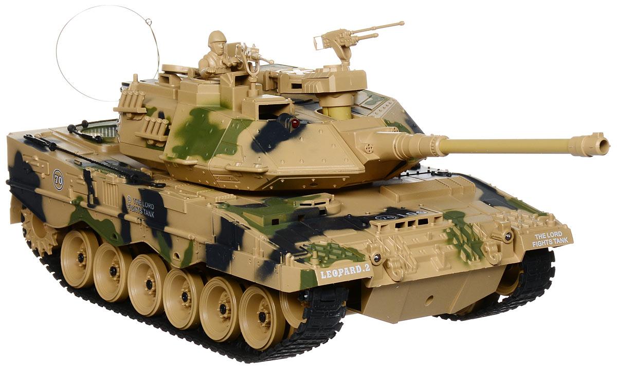 Пламенный мотор Танк на радиоуправлении Leopard 2