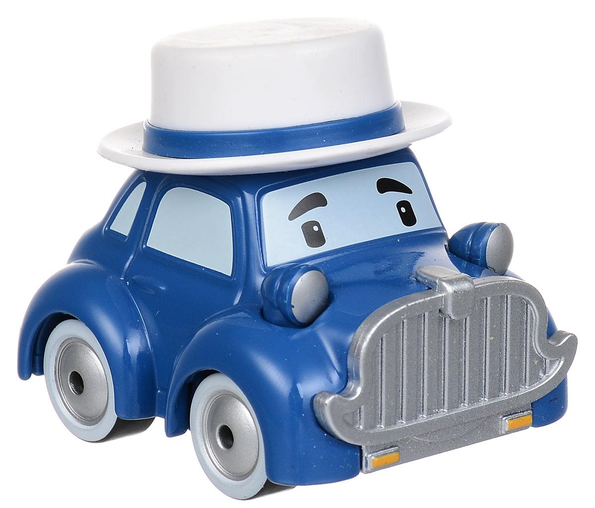 """Машинка Robocar Poli """"Масти"""" непременно понравится вашему малышу. Она выполнена из металла с элементами пластика в виде машинки мистера Масти - персонажа популярного мультсериала """"Robocar Poli"""". Масти оснащен колесиками со свободным ходом, позволяющими катать машинку. Благодаря небольшому размеру ребенок сможет взять игрушку с собой на прогулку, в поездку или в гости. Порадуйте своего малыша таким замечательным подарком!"""
