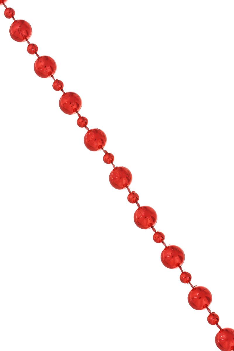 Новогодняя гирлянда Lunten Ranta Сказка, цвет: красный, длина 2 мNLED-454-9W-BKНовогодняя гирлянда Lunten Ranta Сказка отлично подойдет для декорации вашего дома и новогодней ели. Изделие, выполненное из пластика, представляет собой гирлянду, на текстильной нити, на которой нанизаны круглые бусины разного размера. Новогодние украшения несут в себе волшебство и красоту праздника. Они помогут вам украсить дом к предстоящим праздникам и оживить интерьер по вашему вкусу. Создайте в доме атмосферу тепла, веселья и радости, украшая его всей семьей. Диаметр бусин: 1 см; 0,5 см.