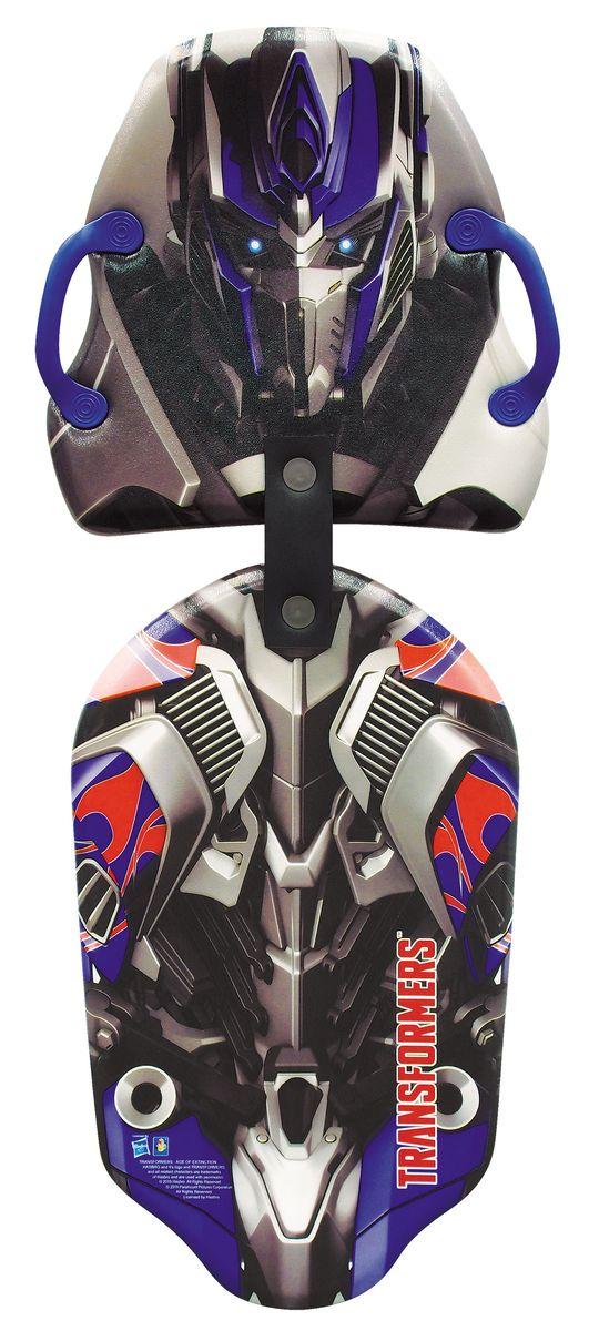 1toy Transformers Ледянка двойная Transformers 119 смSF 0085Ледянка Transformers станет прекрасным подарком для поклонников популярного фильма. Изделие предназначено катания с горок и идеально подойдет для мальчиков. Ледянка развивает на спуске хорошую скорость. Модель с 2 парами прорезей для рук.