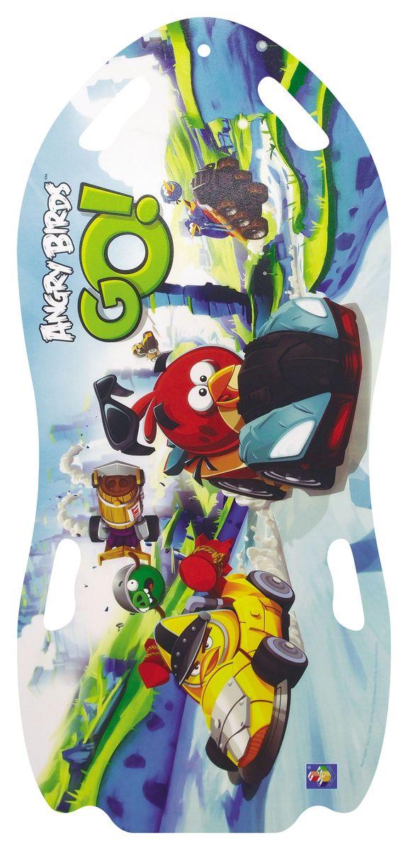 Angry Birds Ледянка для двоих Angry Birds 122 см Т57214Т58161Ледянка для двоих Angry Birds станет прекрасным подарком для поклонников известной игры. Изделие предназначено катания с горок и идеально подойдет как для мальчиков, так и для девочек. Ледянка развивает на спуске хорошую скорость. Модель с 2 парами прорезей для рук.