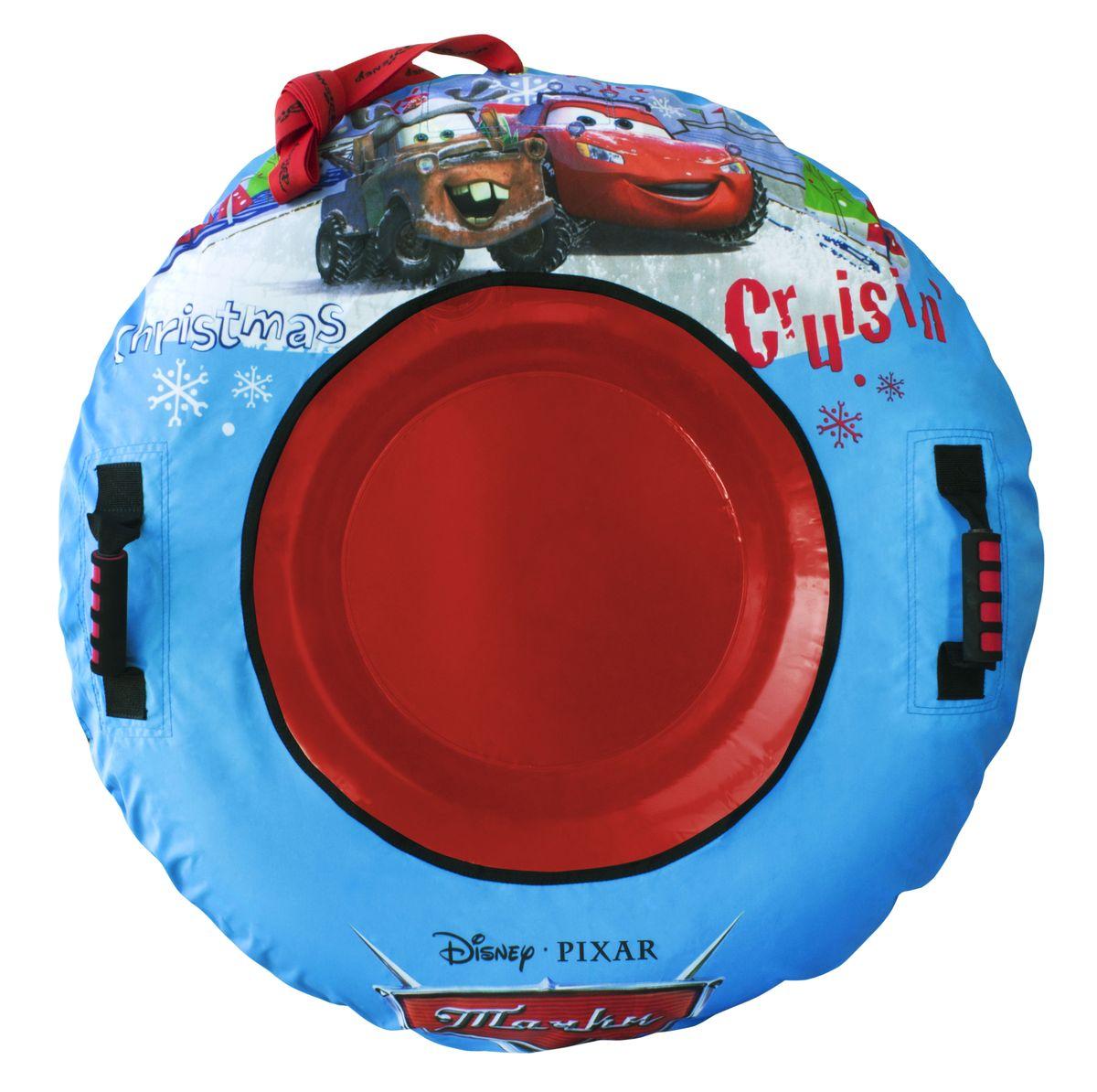 Тачки Тюбинг Disney Тачки, диаметр 92 смТ57210Тюбинг Disney Тачки - это красочные надувные санки для веселых развлечений всей семьи, диаметр 92 см. Внешний чехол из нейлона 420 ден. Усиленные крепления ручек. Морозоустойчивый материал до -30С. Предназначен для использования на снежных и ледяных поверхностях. В комплекте: камера, чехол.