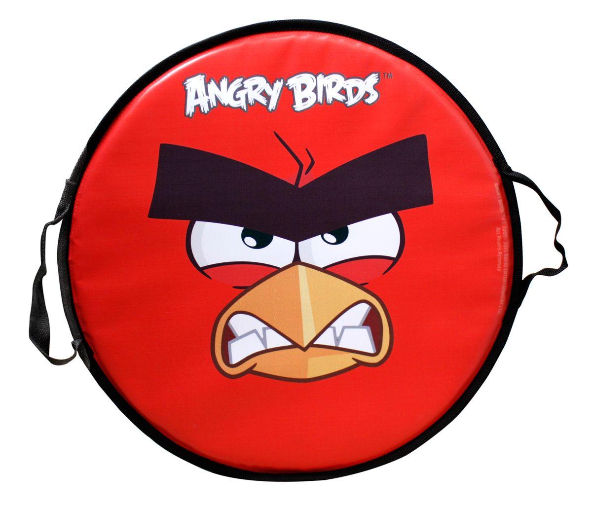 Angry Birds Ледянка круглая Angry Birds 52 см Т58162Т58222Ледянка Angry Birds станет прекрасным подарком для поклонников известной игры. Изделие предназначено катания с горок и идеально подойдет как для мальчиков, так и для девочек. Ледянка развивает на спуске хорошую скорость. Плотные ручки, расположенные по краям изделия помогут не упасть.