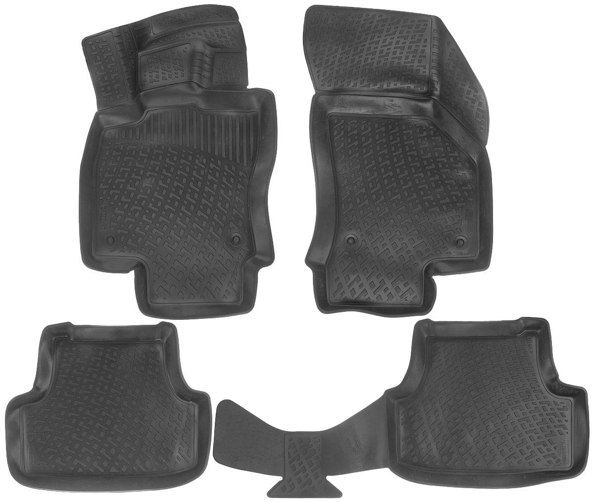 Набор автомобильных ковриков L.Locker Volkswagen Golf (7) 2012, в салон, 4 шт0106070101Набор L.Locker Volkswagen Golf (7) 2012, изготовленный из полиуретана, состоит из 4ковриков,которые производятся индивидуально для каждой моделиавтомобиля. Изделие точно повторяет геометрию пола автомобиля, имеет высокийборт, обладает повышенной износоустойчивостью, лишено резкого запаха и сохраняет своипотребительские свойства в широком диапазоне температур от -50°С до +80°С.Комплектация: 4 шт.Размер ковриков: 87 см х 53 см; 57 см х 46 см; 104 см х 47 см; 84 см х 50 см.
