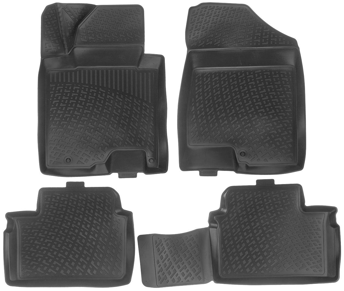 Набор автомобильных ковриков L.Locker Kia Ceed (3) Hatchback 2012, в салон, 4 штAL-350Набор L.Locker Kia Ceed (3) Hatchback 2012, изготовленный из полиуретана, состоит из 4 антискользящих 3D ковриков, которые производятся индивидуально для каждой модели автомобиля. Изделие точно повторяет геометрию пола автомобиля, имеет высокий борт, обладает повышенной износоустойчивостью, лишено резкого запаха и сохраняет свои потребительские свойства в широком диапазоне температур от -50°С до +50°С.Комплектация: 4 шт.Размер ковриков: 76 см х 57 см; 89 см х 47 см; 58 см х 47 см; 77 см х 56 см.
